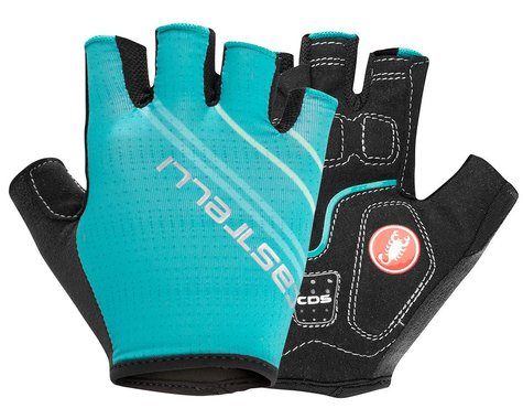 Castelli Dolcissima 2 Women's Gloves (Malachite Green) (S)