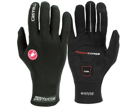Castelli Perfetto RoS Long Finger Glove (Black) (S)