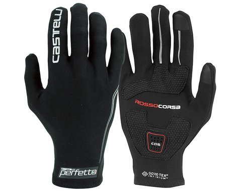Castelli Perfetto Light Long Finger Gloves (Black) (M)