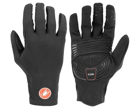 Castelli Lightness 2 Long Finger Glove (Black) (M)