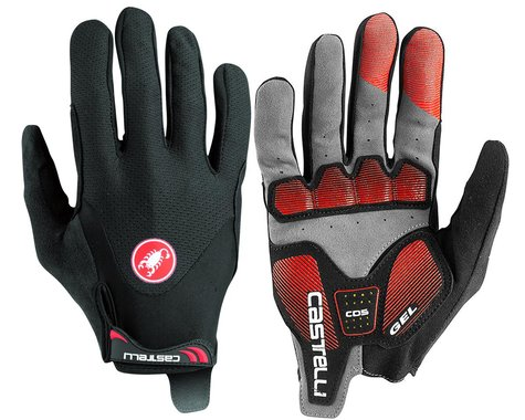 Castelli Arenberg Gel Long Finger Gloves (Black) (S)