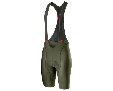 Castelli Competizione Bib Shorts (Military Green) (XL)