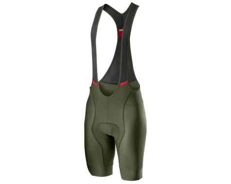 Castelli Competizione Bib Shorts (Military Green) (2XL)