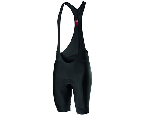 Castelli Entrata Bib Shorts (Black) (L)