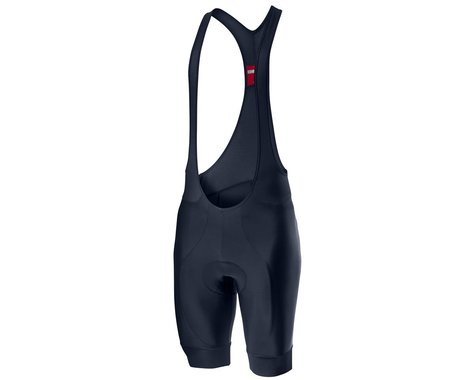 Castelli Entrata Bib Shorts (Savile Blue) (2XL)