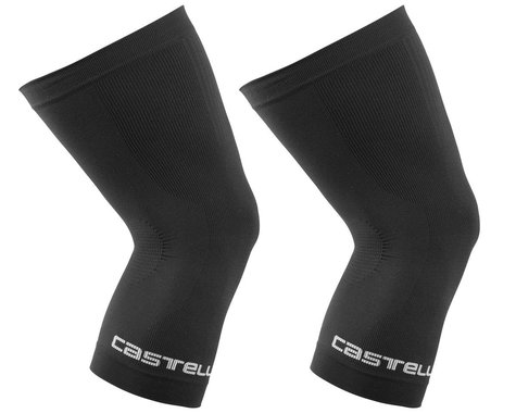 Castelli Pro Seamless Knee Warmers (Black) (L/XL)