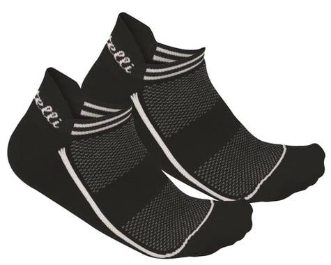 Castelli Invisibile Sock (Black) (L/XL)