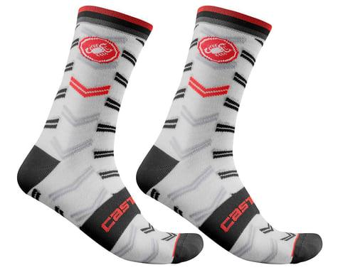 Castelli Transition 18 Socks (White) (S/M)