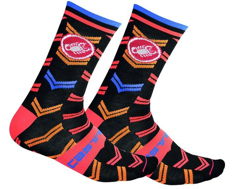 Castelli Men's Transition 18 Socks (Black) (S/M)