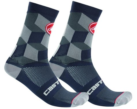 Castelli Unlimited 15 Sock (Dark Grey) (S/M)