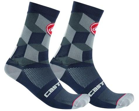 Castelli Unlimited 15 Sock (Dark Grey) (L/XL)