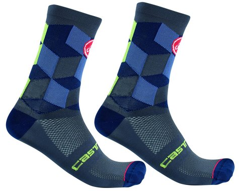 Castelli Unlimited 15 Sock (Dark Steel Blue) (2XL)
