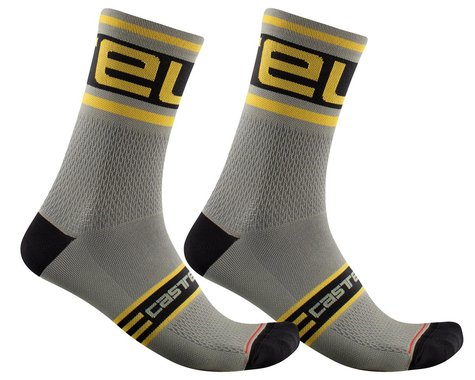 Castelli Prologo 15 Sock (Bark Green) (S/M)