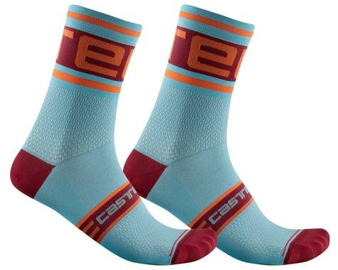 Castelli Prologo 15 Sock (Celeste) (S/M)