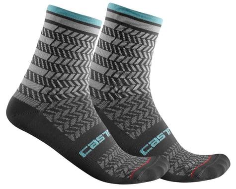 Castelli Avanti 12 Sock (Dark Grey) (L/XL)