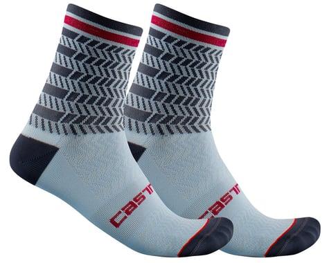 Castelli Avanti 12 Sock (Dusty Blue/Dark Steel Blue) (L/XL)