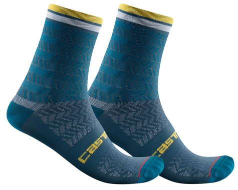 Castelli Avanti 12 Sock (Storm Blue) (L/XL)