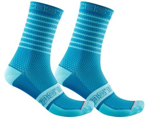 Castelli Superleggera 12 Women's Sock (Marine Blue) (L/XL)