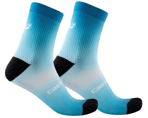 Castelli Gradient 10 Women's Sock (Marine Blue) (S/M)