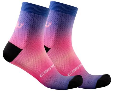 Castelli Gradient 10 Women's Sock (Lapis Blue) (L/XL)