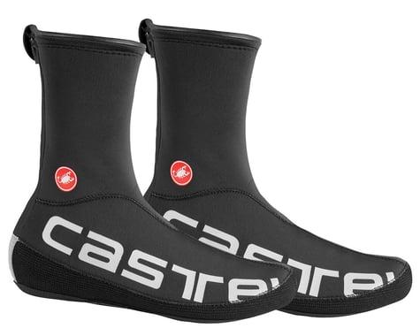 Castelli Diluvio UL Shoe Cover (Black/Silver Reflex) (S/M)