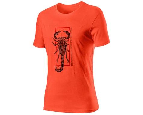 Castelli Logo Tee (Burnt Orange) (L)