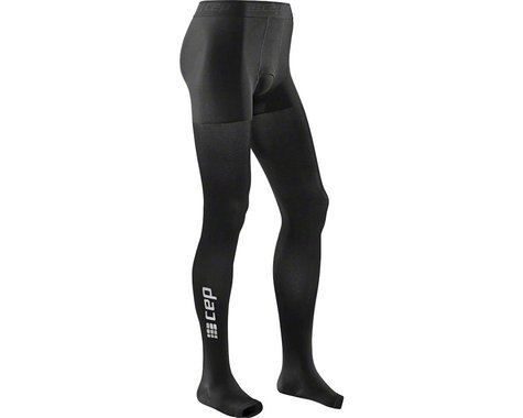 CEP Recovery+ Pro Men's Compression Tights: Black II (M)