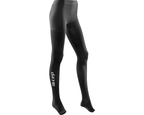 CEP Recovery+ Pro Women's Compression Tights: Black II (XL)