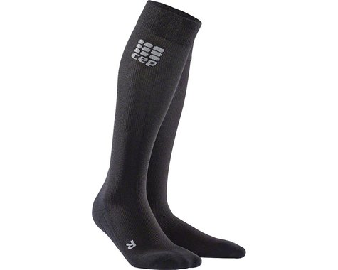 CEP Recovery+ Merino Compression Socks - 10 inch, Black, Women's, Small