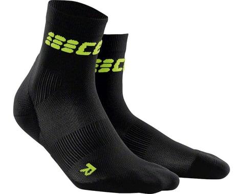 CEP Dynamic+ UltraLight Short Women's Compression Sock (Black/Green)