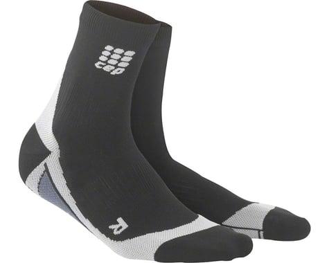 CEP Dynamic+ Short Men's Compression Sock (Black/Grey)