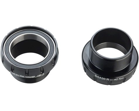 CeramicSpeed 30mm Threaded Bottom Bracket (Black) (BSA) (68/73mm)