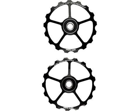 CeramicSpeed Spare Oversized Pulley Wheels: Alloy, Black