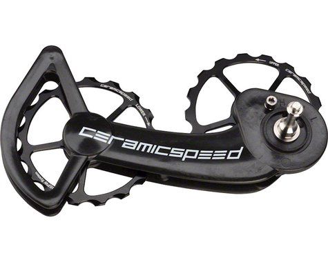 Ceramicspeed SRAM Mechanical 10/11-speed Oversized Pulley Wheel System: Coated,