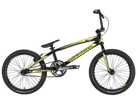 """CHASE Edge 2020 Pro XL BMX Bike (21"""" Toptube) (Black/Yellow)"""