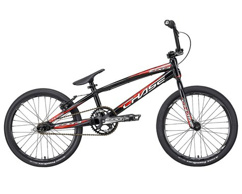 "CHASE 2021 Edge Expert XL BMX Bike (Black/Red) (20"" Toptube)"