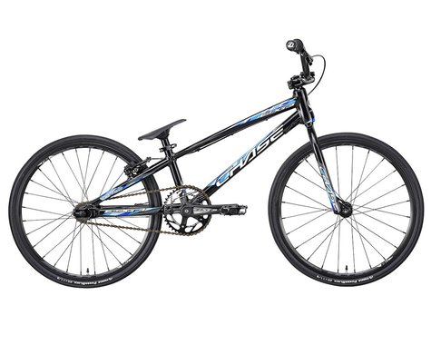 "CHASE 2021 Edge Junior BMX Bike (Black/Blue) (18.75"" Toptube)"