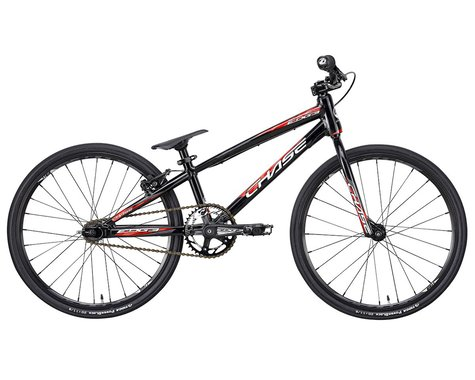 "CHASE 2021 Edge Mini BMX Bike (Black/Red) (17.25"" Toptube)"