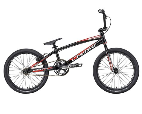 "CHASE 2021 Edge Pro BMX Bike (Black/Red) (20.5"" Toptube)"