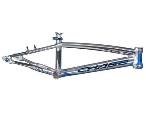 CHASE RSP4.0 Race Bike Frame (Polished w/Blue/Grey) (Expert)