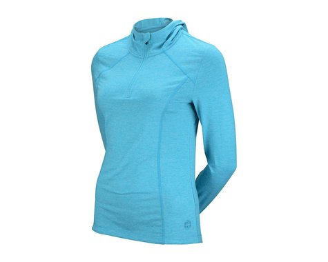 CHCB Women's Libba Hooded Long Sleeve Jersey (Teal Gr)