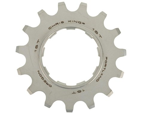 Chris King BMX Cassette Cog (3/32) (Silver)