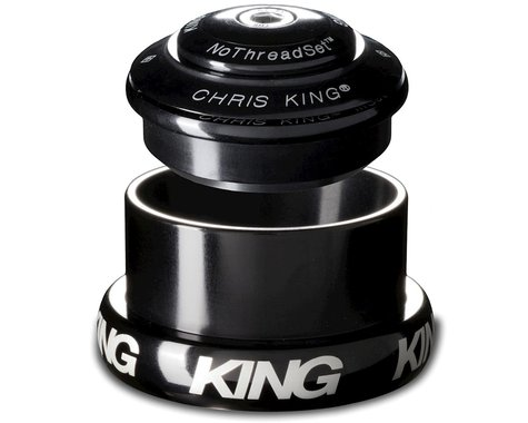 """Chris King InSet 3 Tapered NoThreadSet Headset (Black) (1-1/8"""" to 1.5"""")"""