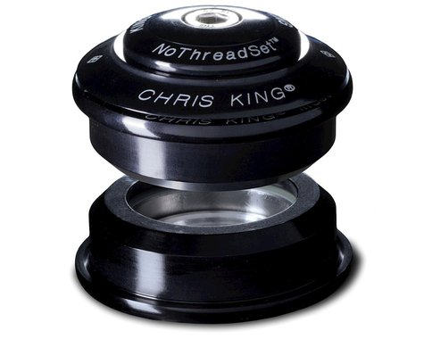 "Chris King InSet NoThreadSet Headset (Black) (1 to 1-1/8"")"