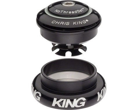 "Chris King InSet 7 Headset (Black) (1-1/8 to 1.5"") (ZS44/28.6) (EC44/40)"