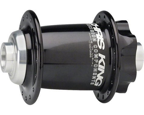 Chris King ISO 15mm Front Disc Hub (Black) (32 Hole)