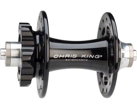 Chris King R45D 9mm QR Front Disc Hub (Black) (28 Hole) (6-Bolt)