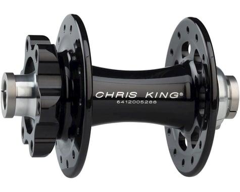 Chris King R45D 12mm Front Disc Hub (Black) (28 Hole) (6-Bolt)