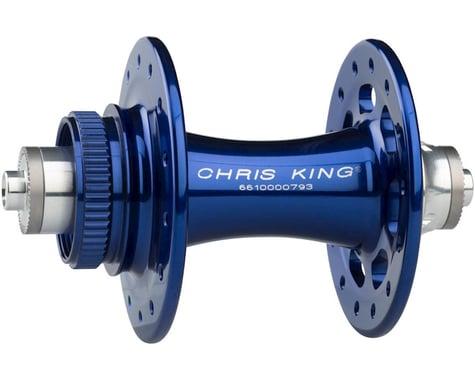 Chris King R45D 9mm QR Front Disc Hub (Navy) (28 Hole) (Centerlock)