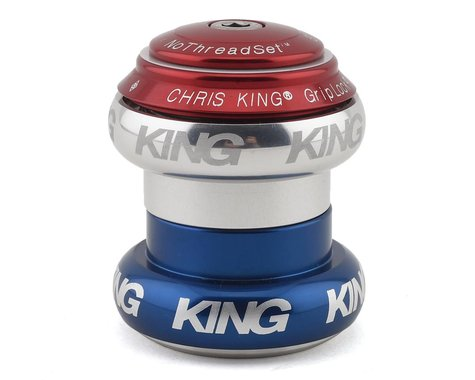 "Chris King NoThreadSet Headset (Patriot) (1-1/8"")"